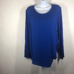 Vince Camuto blue blouse size medium